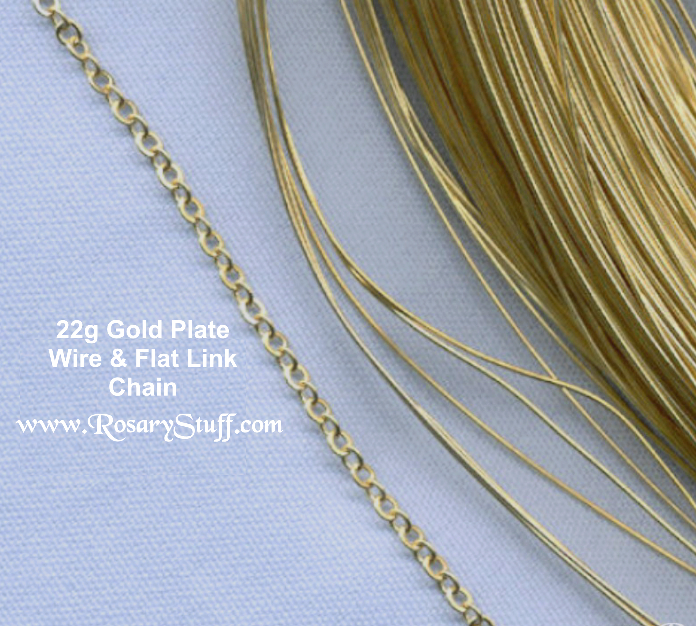 Basic Gold Plate Wire/Chain